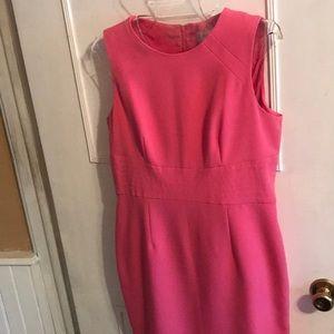 Kasper pink dress.